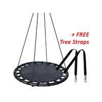 100cm Black Round Mat Nest Swing