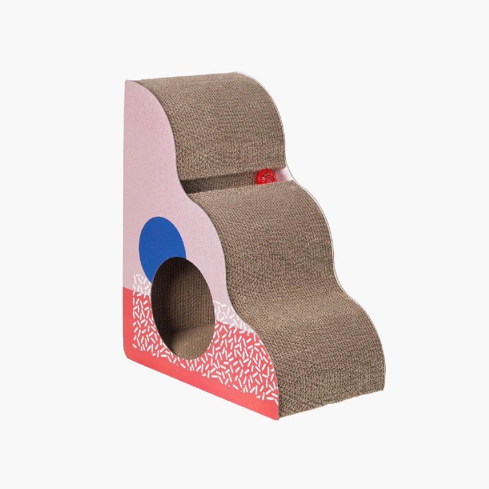 Pidan Cat Kitten Triangle Scratching Post Corrugated Cardboard Scratcher Board Memphis