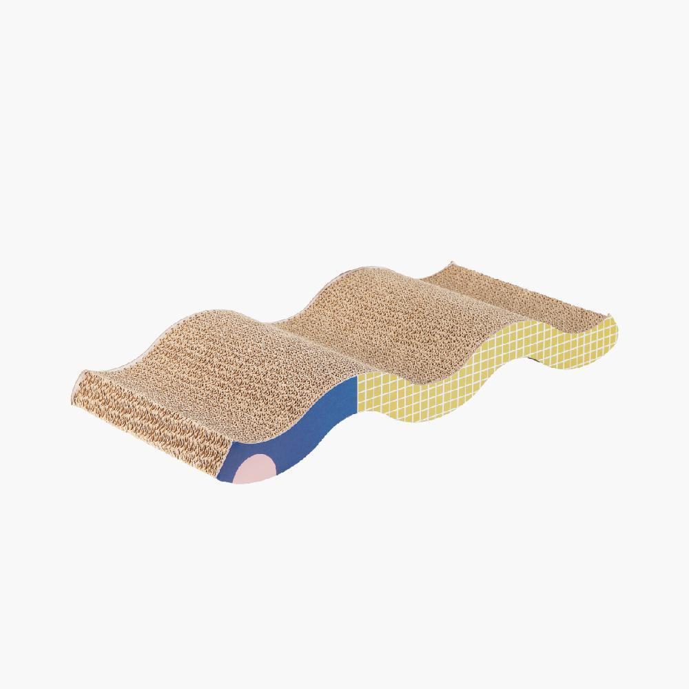 Pidan Cat Kitten Triangle Scratching Post Corrugated Cardboard Scratcher Board Wave