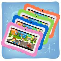 Kids 7-Inch Android Tablet with Protective Case