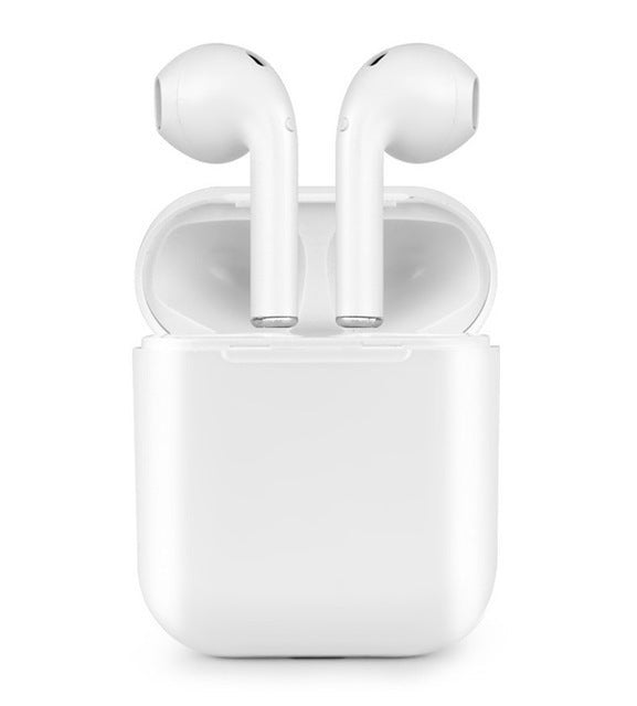 Apple Style Bluetooth In-Earbuds with Portable Charging Case (Bluetooth V5.0)