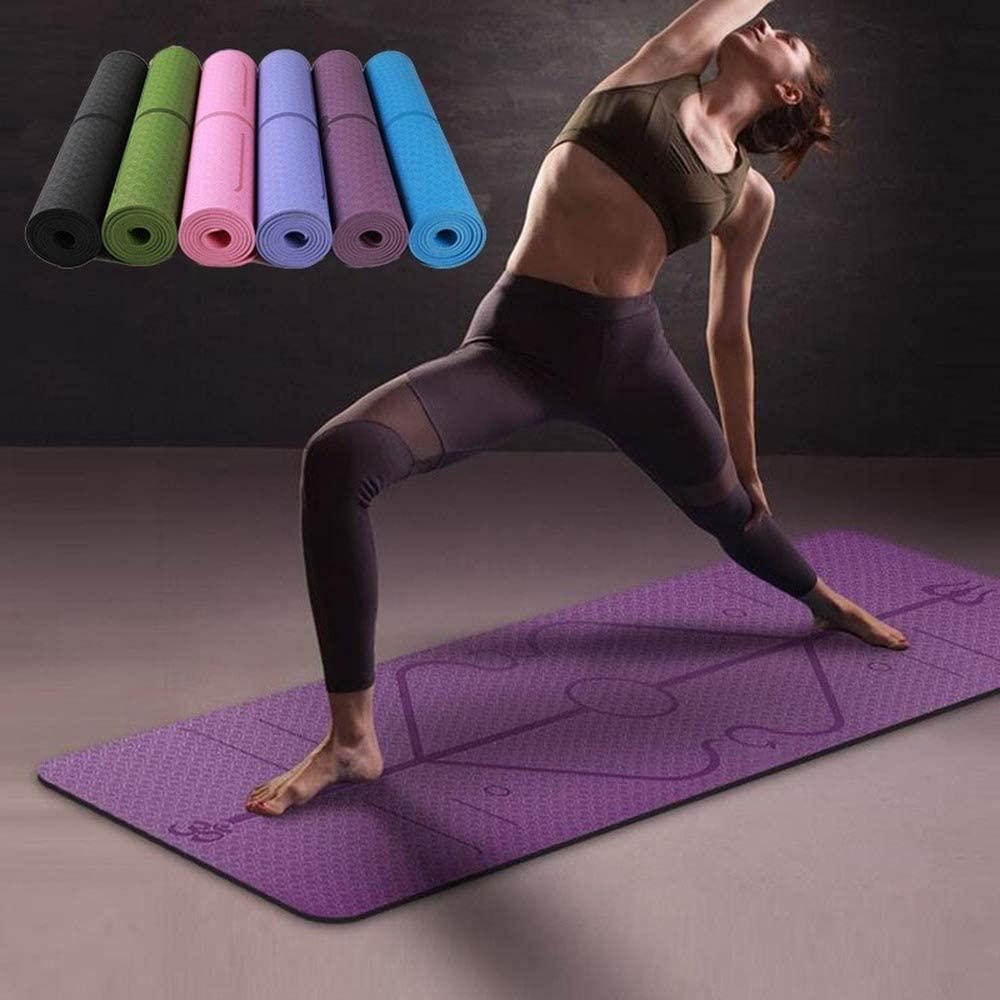 Non Slip Beginner Yoga Mat Fitness Carpet Gymnastics Chusion