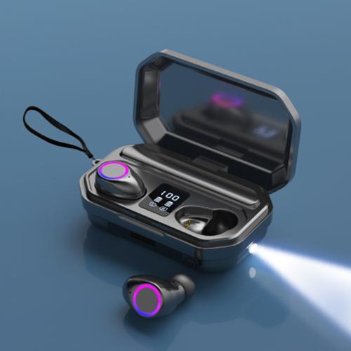 TWS M12 True Wireless LED Digital Display Bluetooth Headset