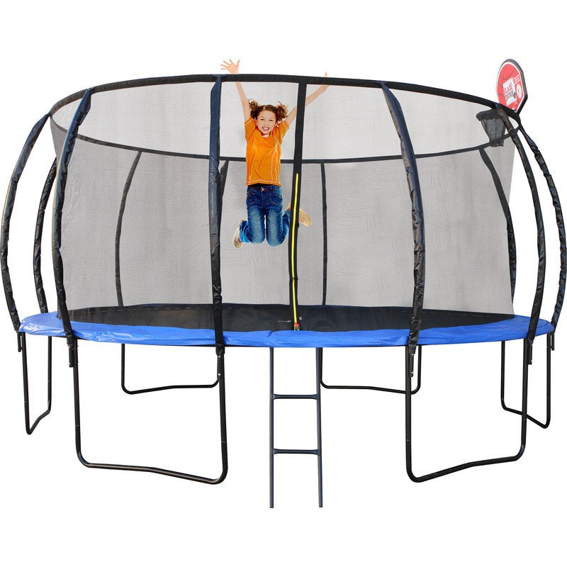 12ft Trampoline With Basketball Hoop PERTH PICK UP