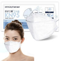 10 x Hainuo KN95 Face Mask Willow Leave Shape N95 Large