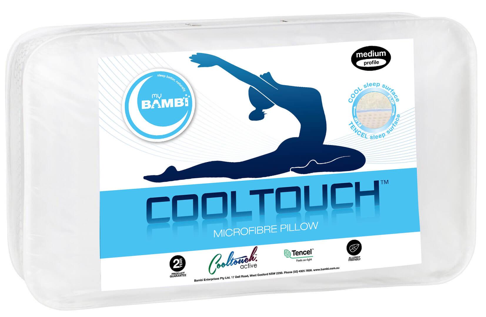 Cooltouch Microfibre Flip Pillow