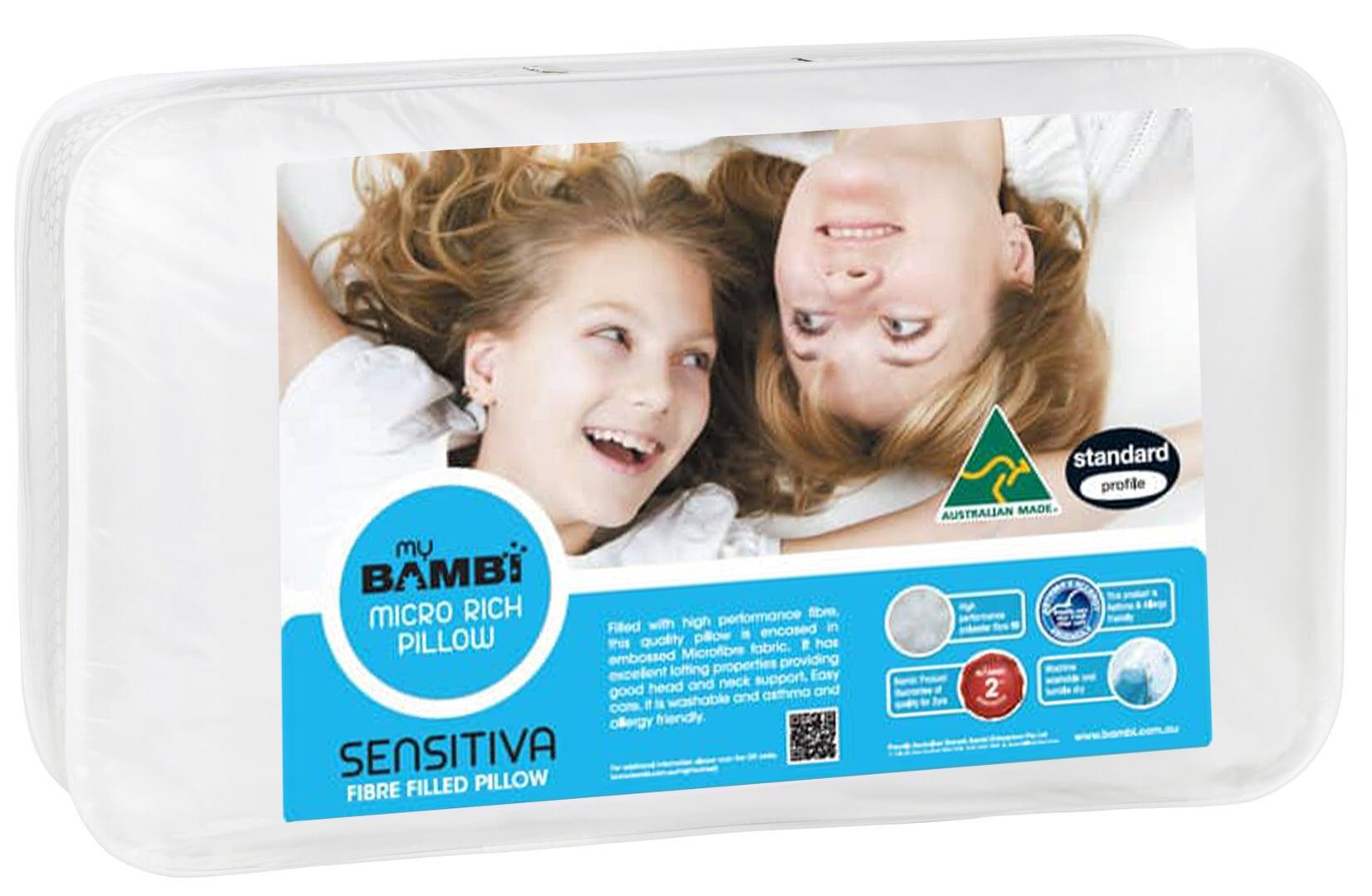 Sensitiva Embossed Micro Rich Pillow