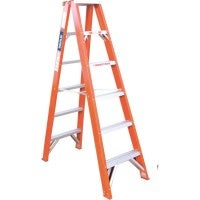 Indalex Double Sided Fibreglass 6 Step Ladder 1.8m