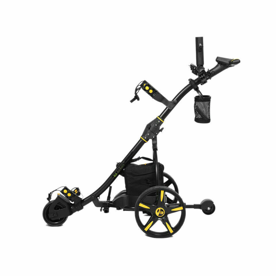 KASA 4-IN-1 Golf Buggy Non Remote & Club Set with Bag & Golf Groove Sharpener Cleaner & Flexible POWER BAND