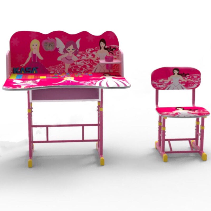 Adjustable Height Girls Kids Desk, Girls Desk And Chair