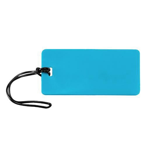 Comfort Travel - Rectangle Luggage Tag - Blue