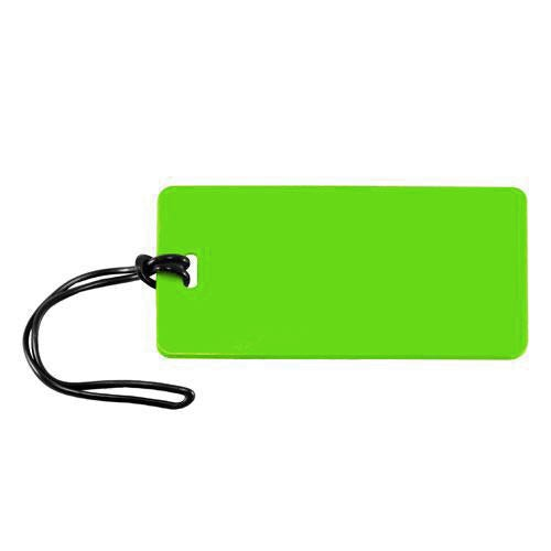 Comfort Travel - Rectangle Luggage Tag - Green
