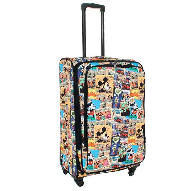 Disney - Comic 28in Large 4 Wheel Soft Suitcase