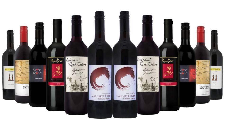 Premium Margaret River Red Wine Pack - 12 Bottles