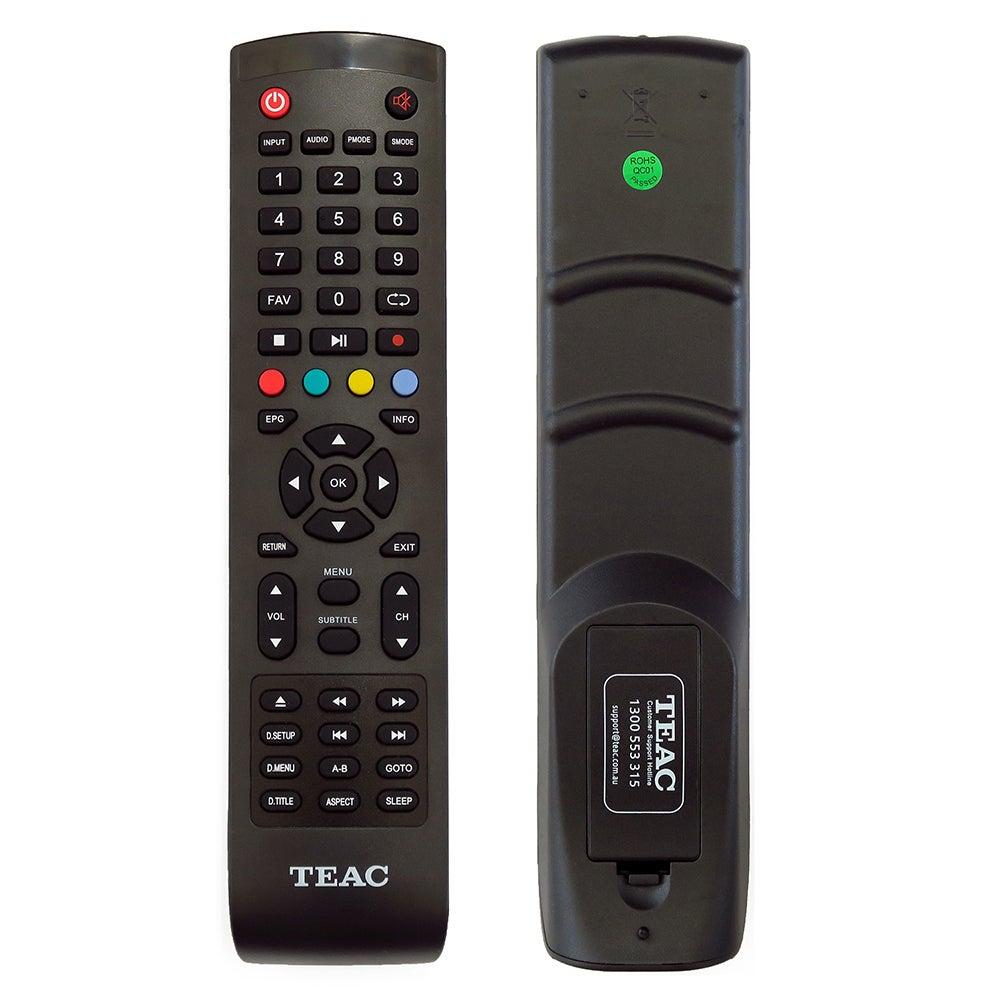 TEAC TV DVD COMBO Original Remote Control TRC1000 240602000542 GD3 A1 A317 A118 SERIES