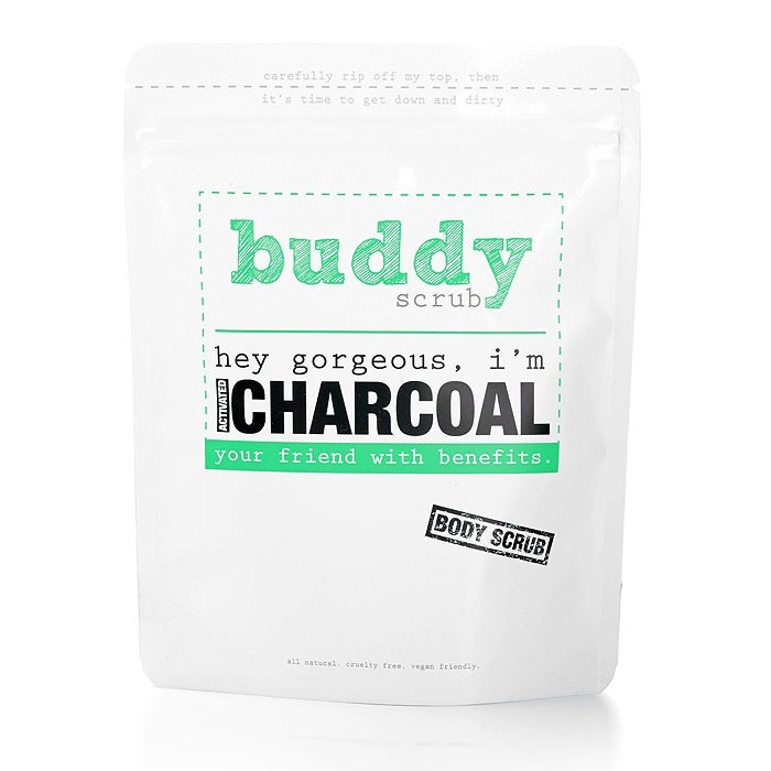 Buddy Scrub Activated Charcoal Body Scrub 200g
