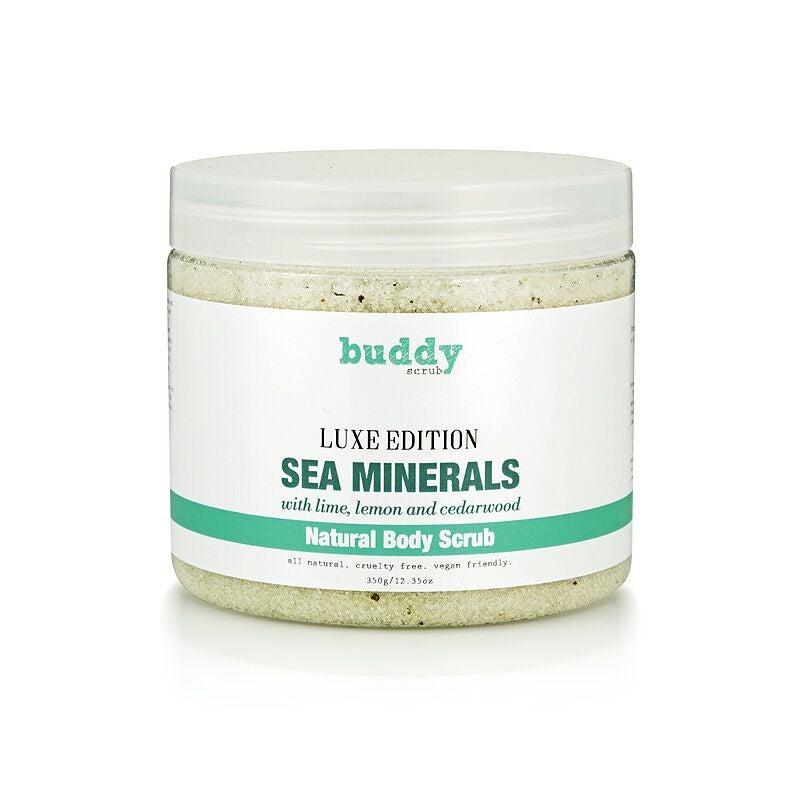 Buddy Scrub Luxe Edition Sea Minerals Body Scrub