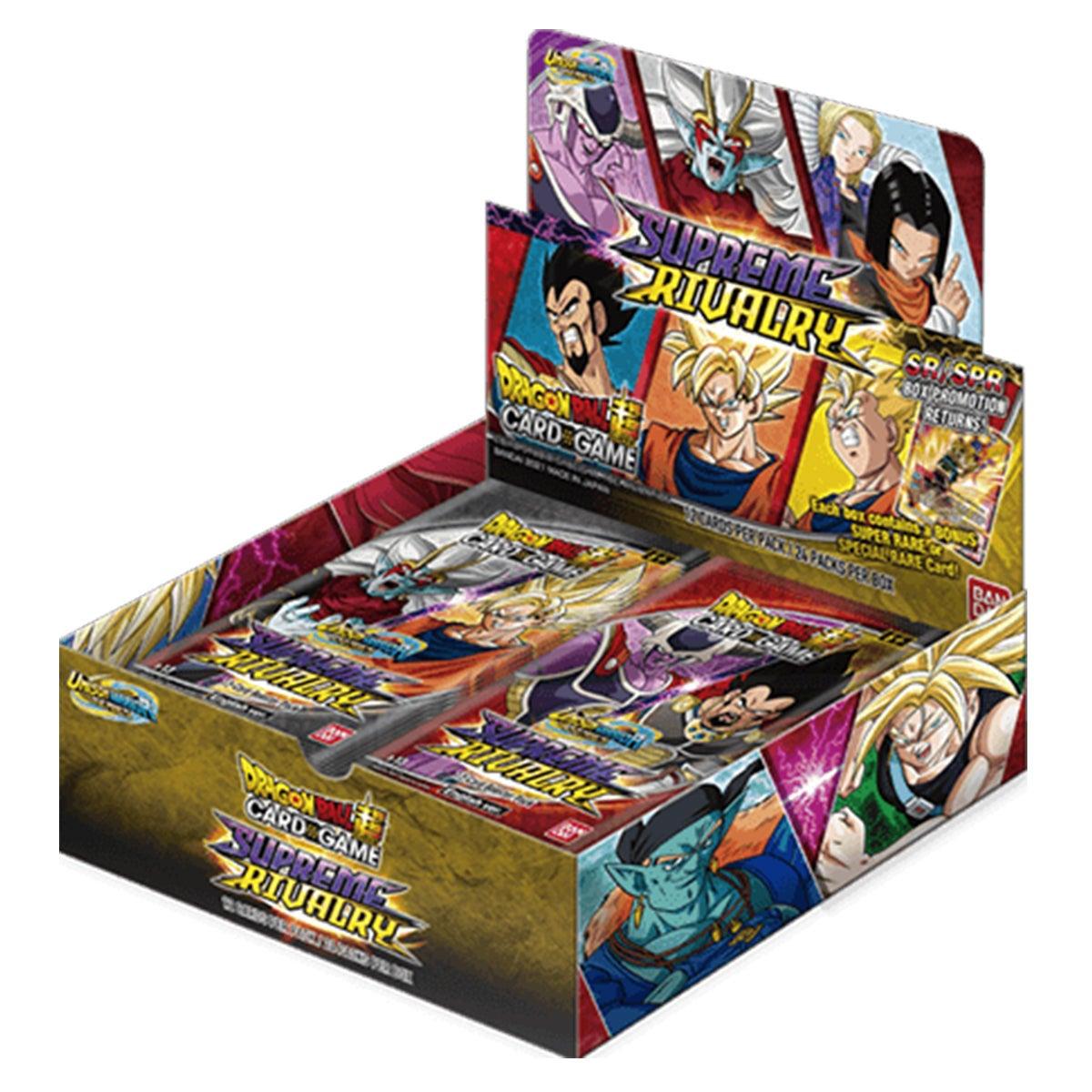 Dragon Ball Super Card Game Unison Warrior S13 UW4 Supreme Rivalry Booster Box W/ 24 Packs