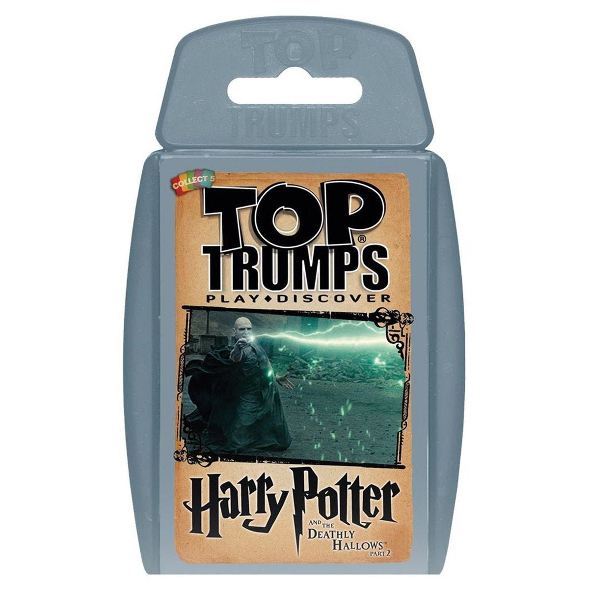 Harry Potter and the Deathly Hallows Part 2 Top Trumps Education Game Card Game