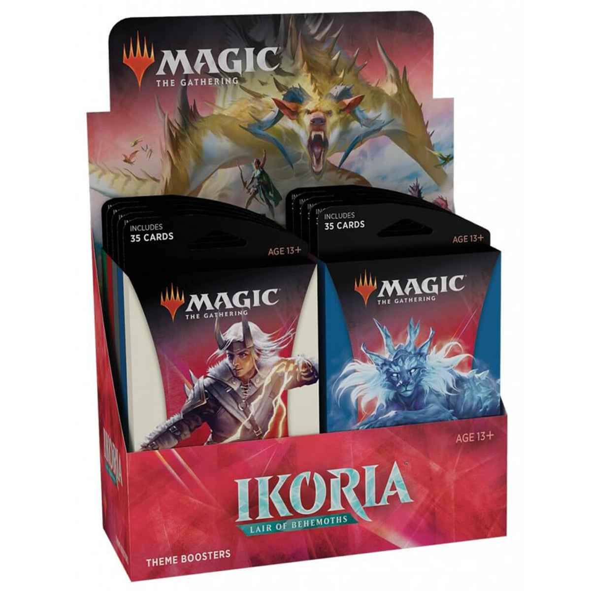 Ikoria Lair of Behemoths Theme Boosters (Set of 6) Magic The Gathering