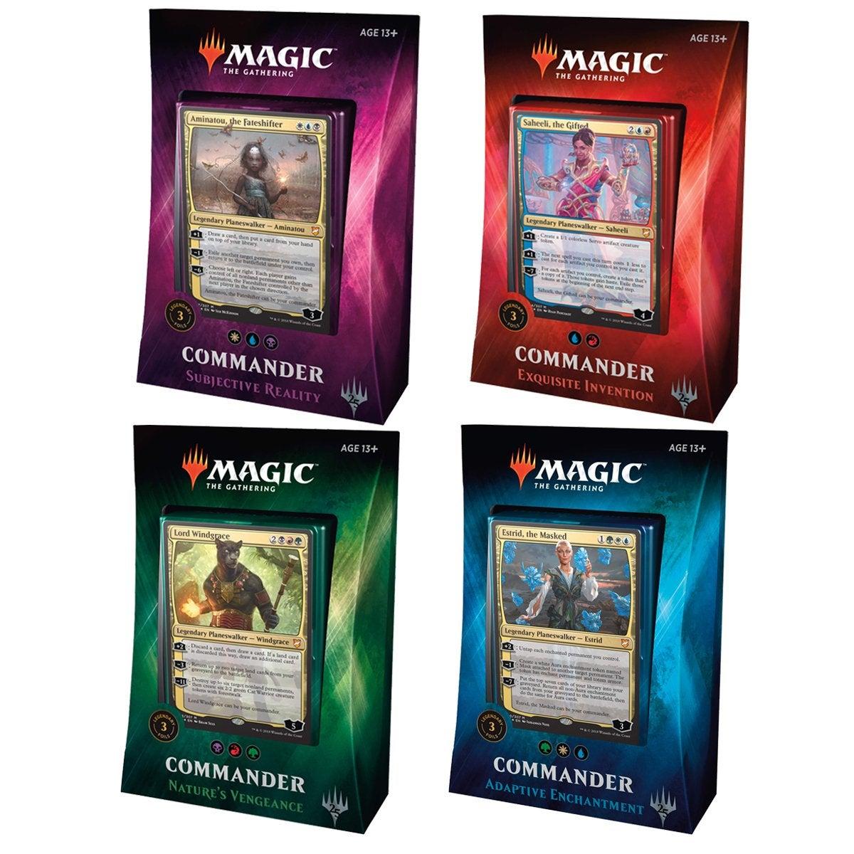 Magic The Gathering Commander 2018 Bundle Pack (Set of 4)