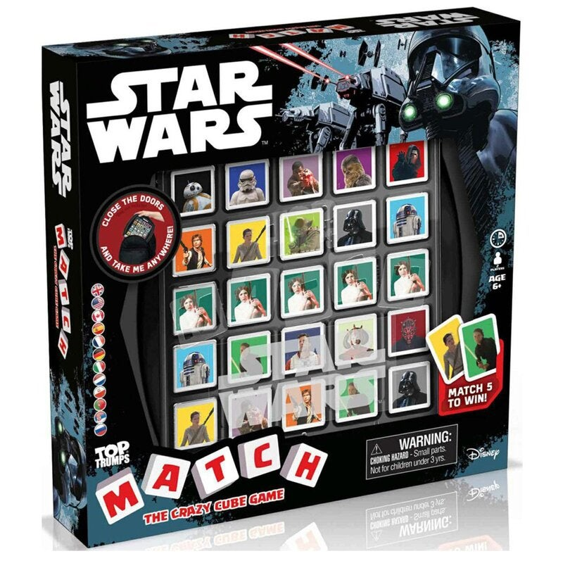Star Wars Match Board Game Party Easter Christmas Gift Game
