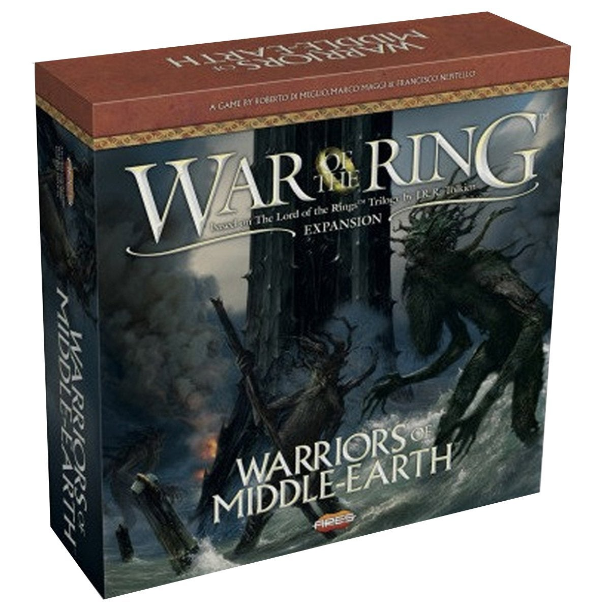 War of the Ring 2nd Edition Warriors of Middle Earth Expansion