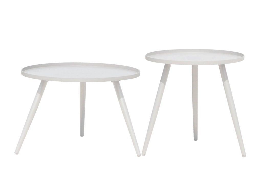 Yea Steel Outdoor Side Table Set