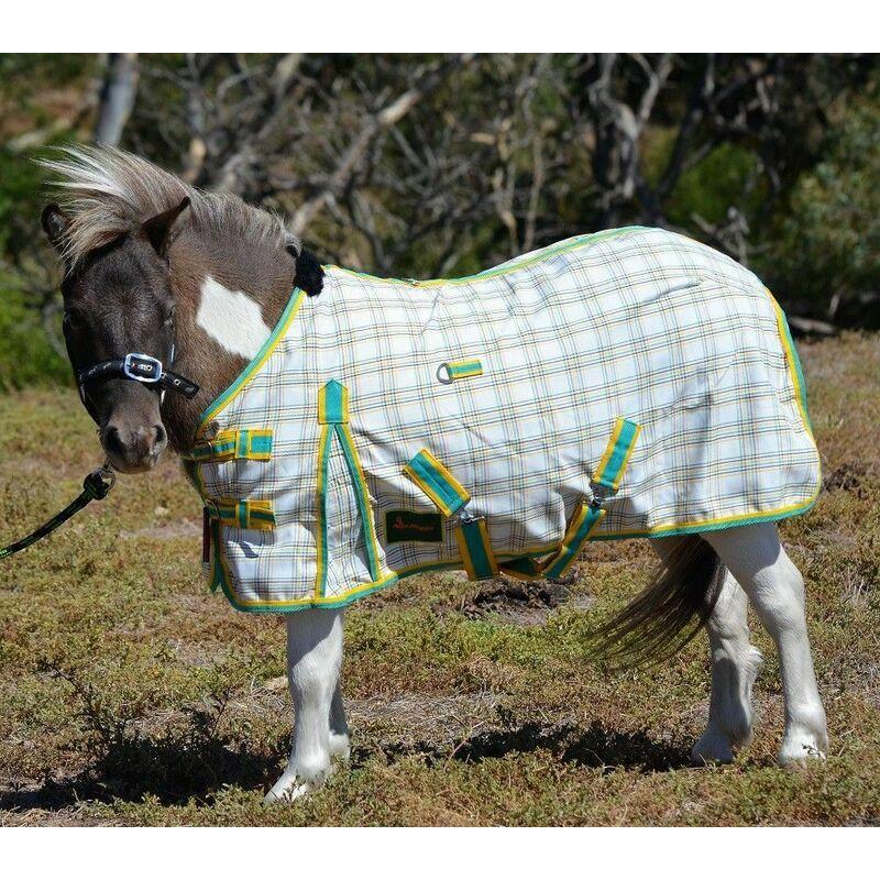RUMANI 310GSM Summer Sheet Poly Cotton Ripstop Paddock MINIATURE/ MINI HORSE RUG