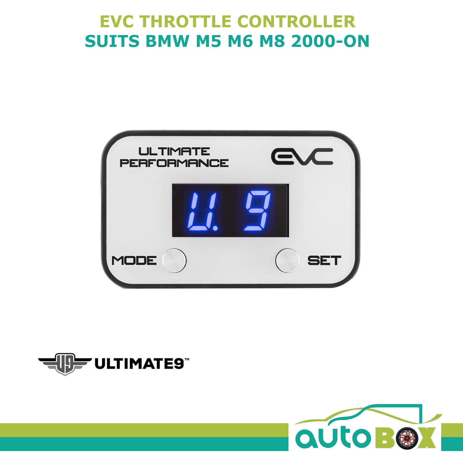 EVC iDRIVE ELECTRONIC THROTTLE CONTROLLER FOR BMW M5 M6 M8 2000 - ON WINDBOOSTER