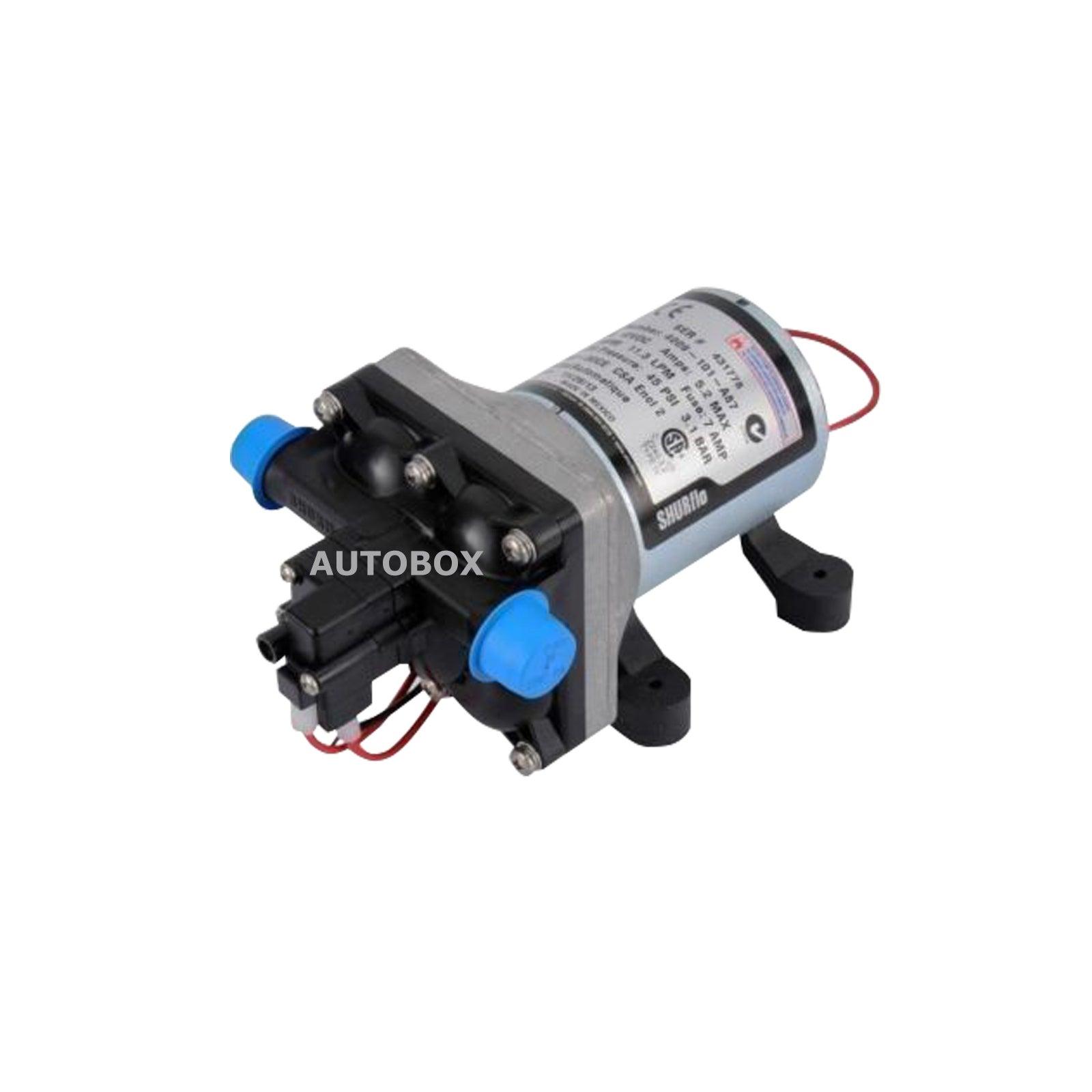 SHURflo Revolution 4009 12 volt Caravan Water Pump Camper Trailer Motorhome RV