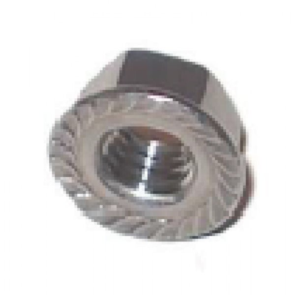 M8 Flange Nut 304 Grade Stainless Steel