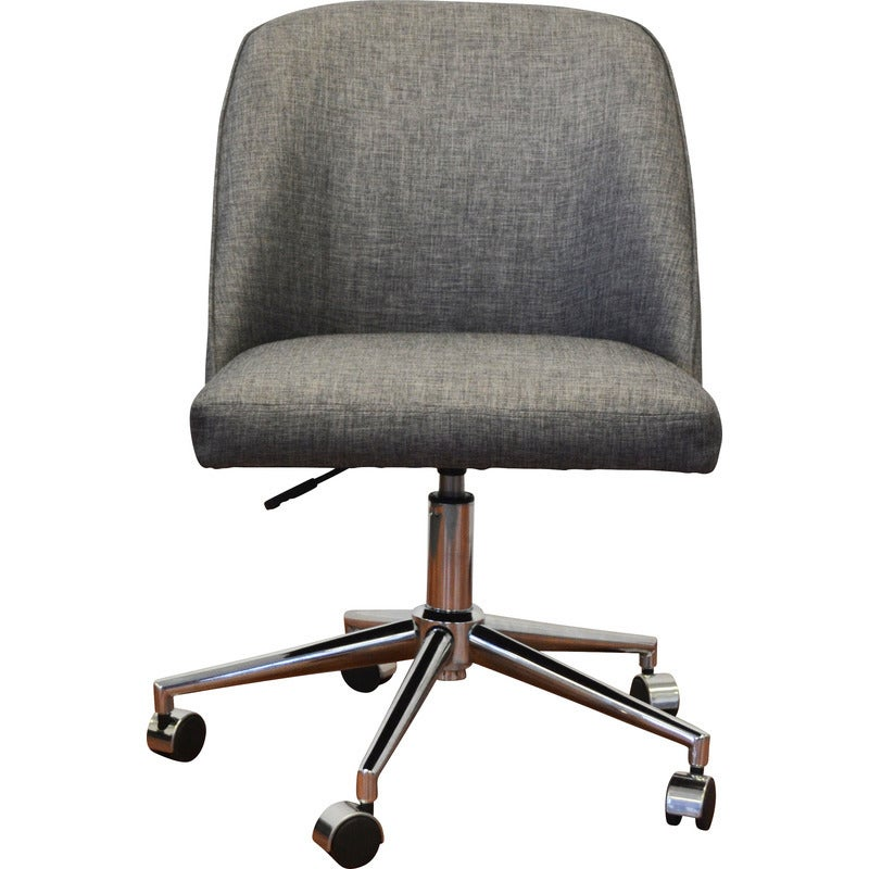 Archie Fabric Boardroom Office Chair in Charcoal
