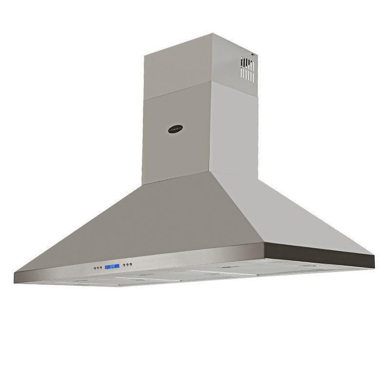 EuroGrille Commercial Rangehood 1500mm Stainless Steel Outdoor Range Hood Canopy