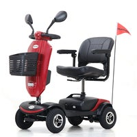 EQUIPMED Mobility Scooter For Elderly Motorized Electric Older Adults 4 Riding