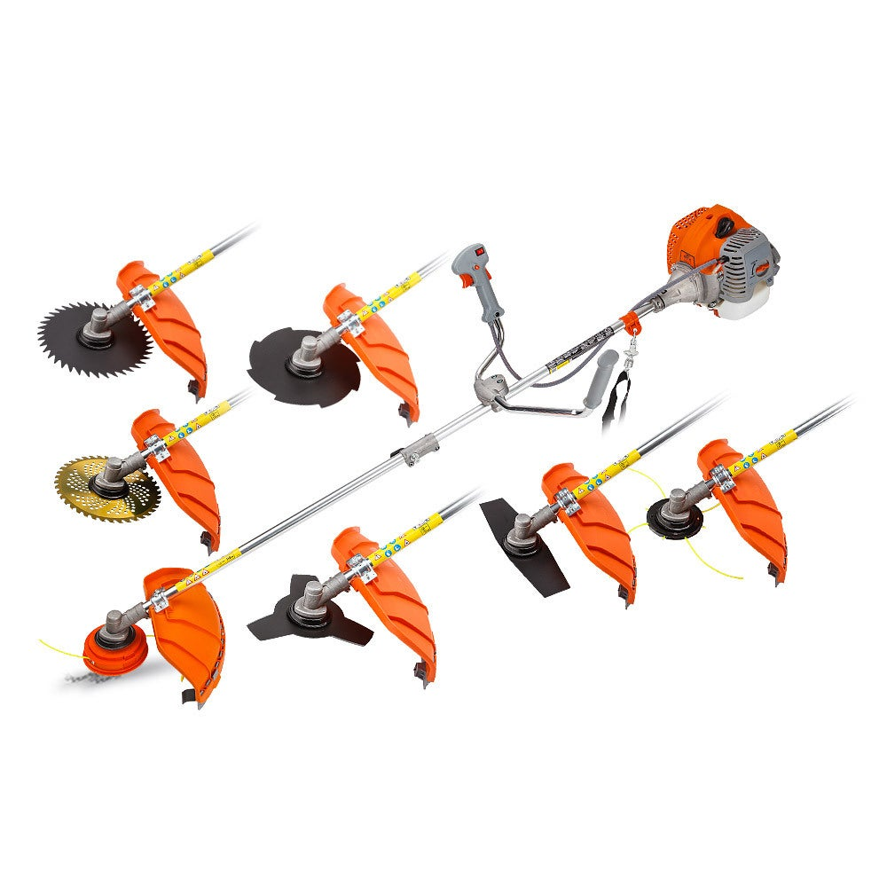 MTM 62CC Brush Cutter Whipper Snipper Trimmer Edger Brushcutter Multi Pole Tool