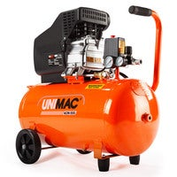 UNIMAC Air Compressor 50L 3HP Electric Portable Inflator Direct Tank Pump Oil