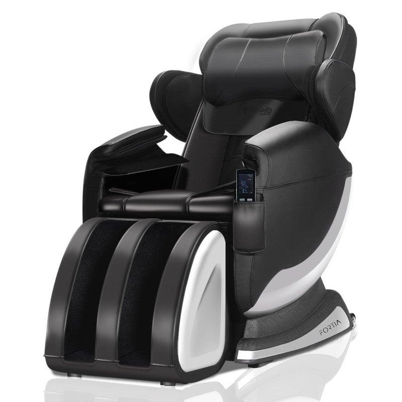 FORTIA Electric Massage Chair Full Body Reclining Zero Gravity Back Kneading