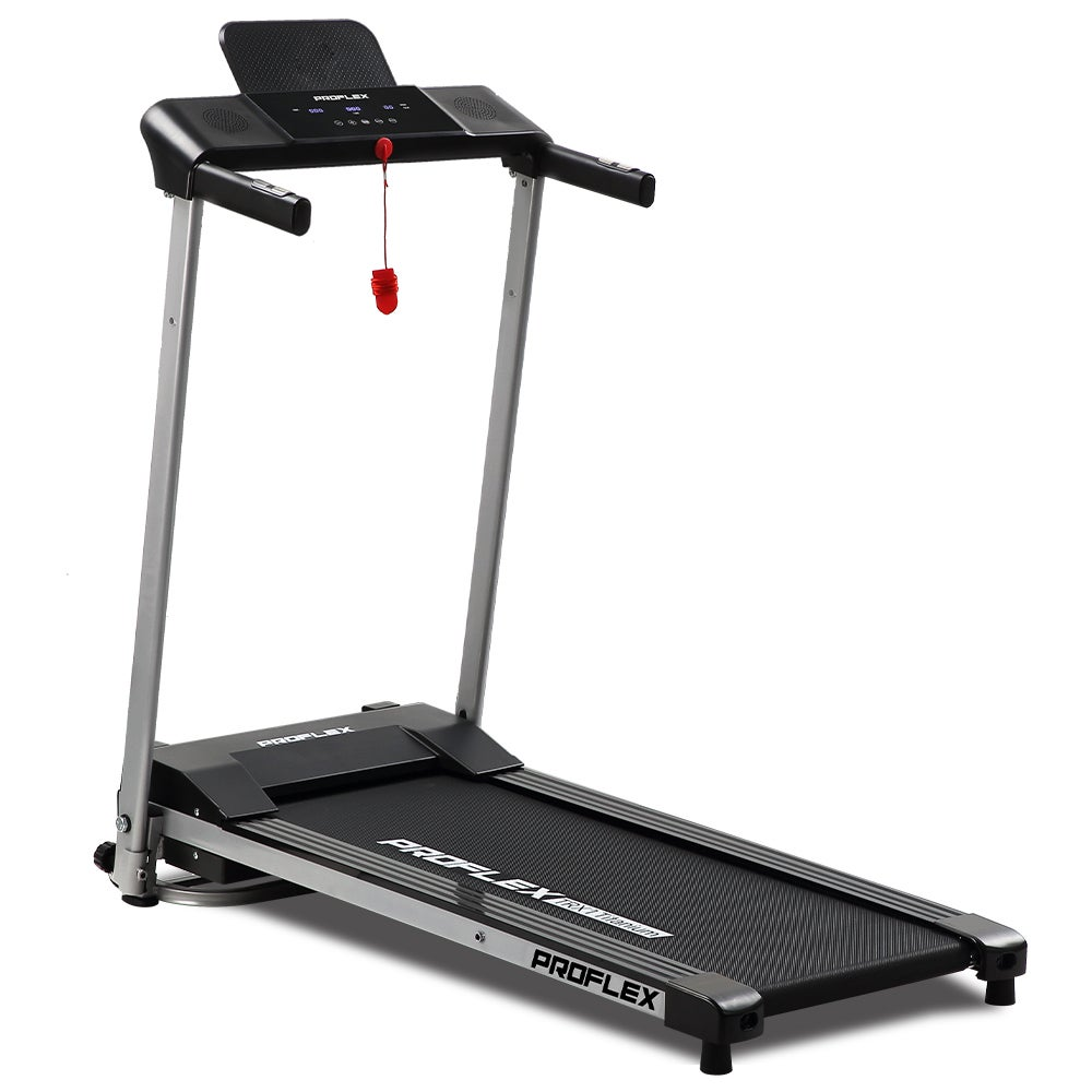 PROFLEX Treadmill Bluetooth Running Machine Foldable Compact Small Home Electric