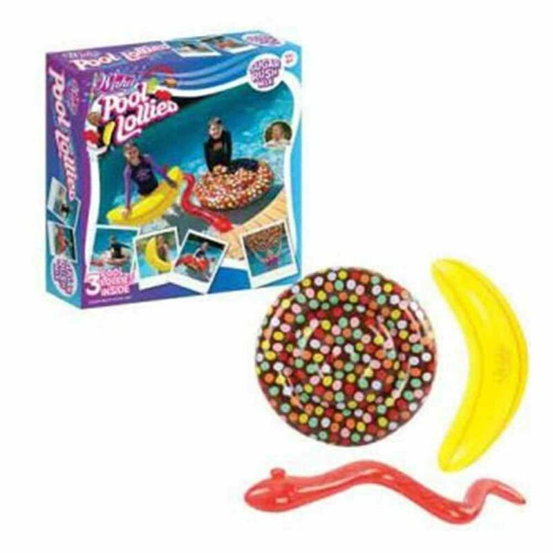 Wahu Infiatable Lollies Sugar Swimming pool Tubes Fun Play Kids LU