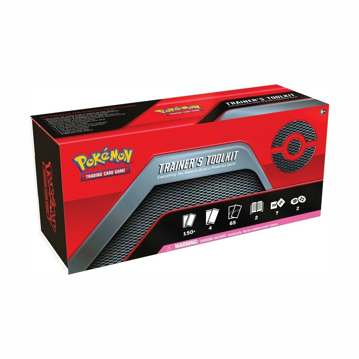 Pokemon TCG Trainer's Toolkit Box 4 Booster Packs Sealed 2 Dedenne GX