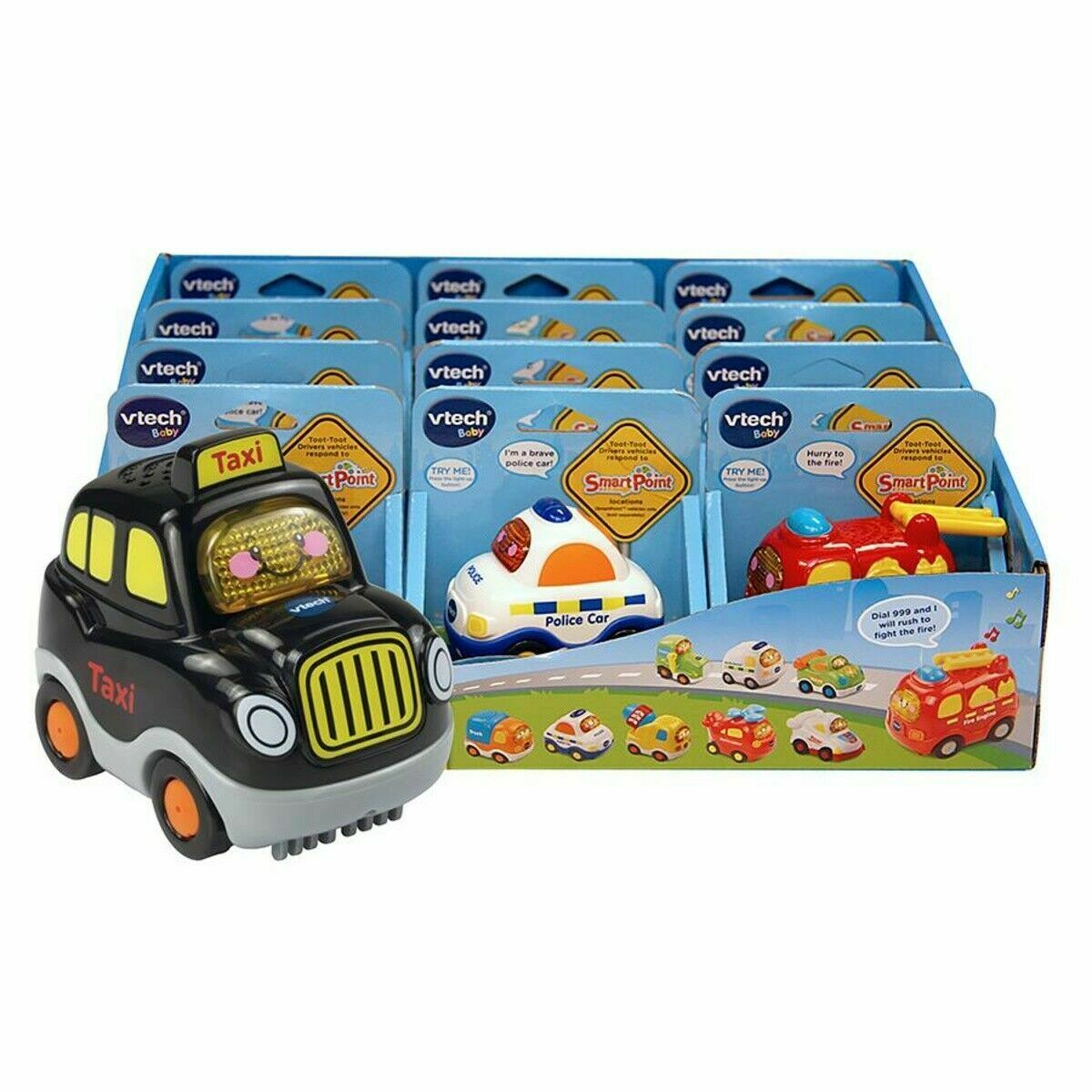 Vtech TOOT-TOOT DRIVERS ASSORTED HOT ROD Activity Toy Vehicle