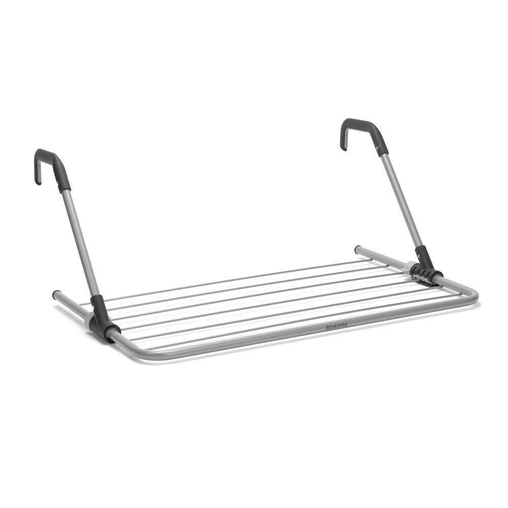 BRABANTIA 4.5M Hanging Drying Rack Airer Laundry Foldable Clothes 01847 Grey