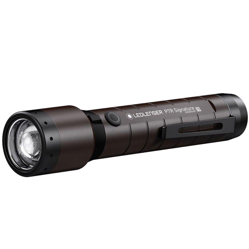 LED Lenser P7R SIGNATURE Rechargeable Focusable Torch Flashlight 2000 Lumen
