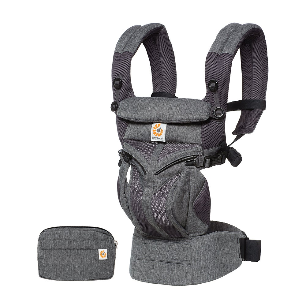 New Ergobaby Omni 360 Cool Air Mesh Baby Carrier - Classic Weave