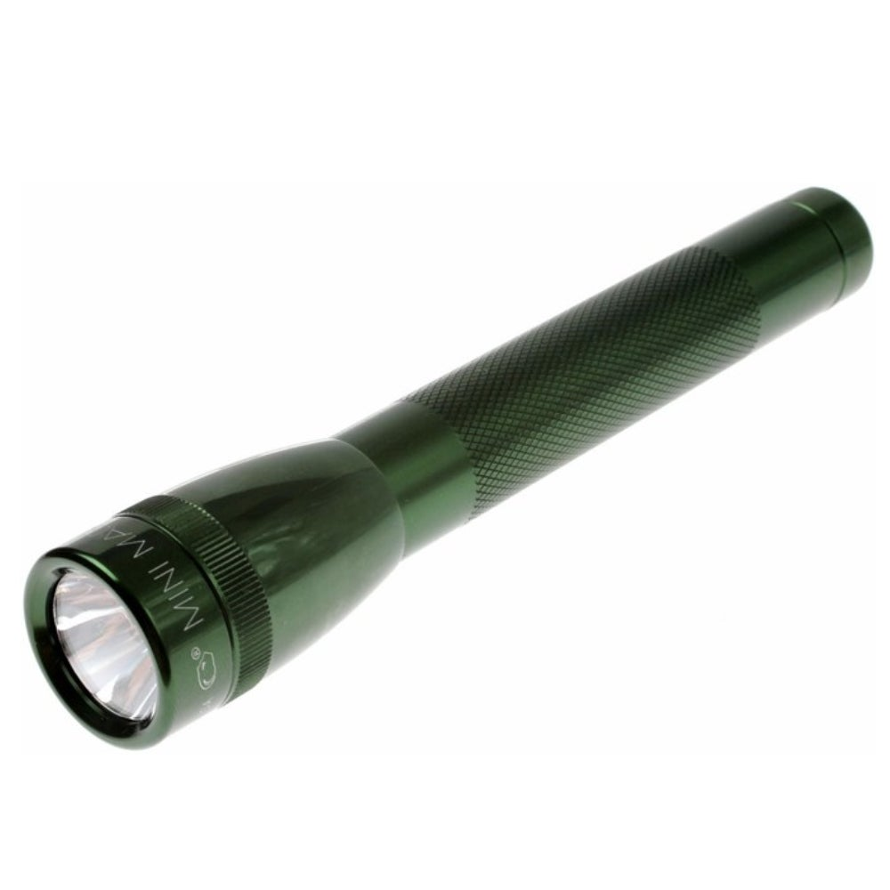 NEW GREEN MAGLITE 2AA Flashlight MADE IN USA
