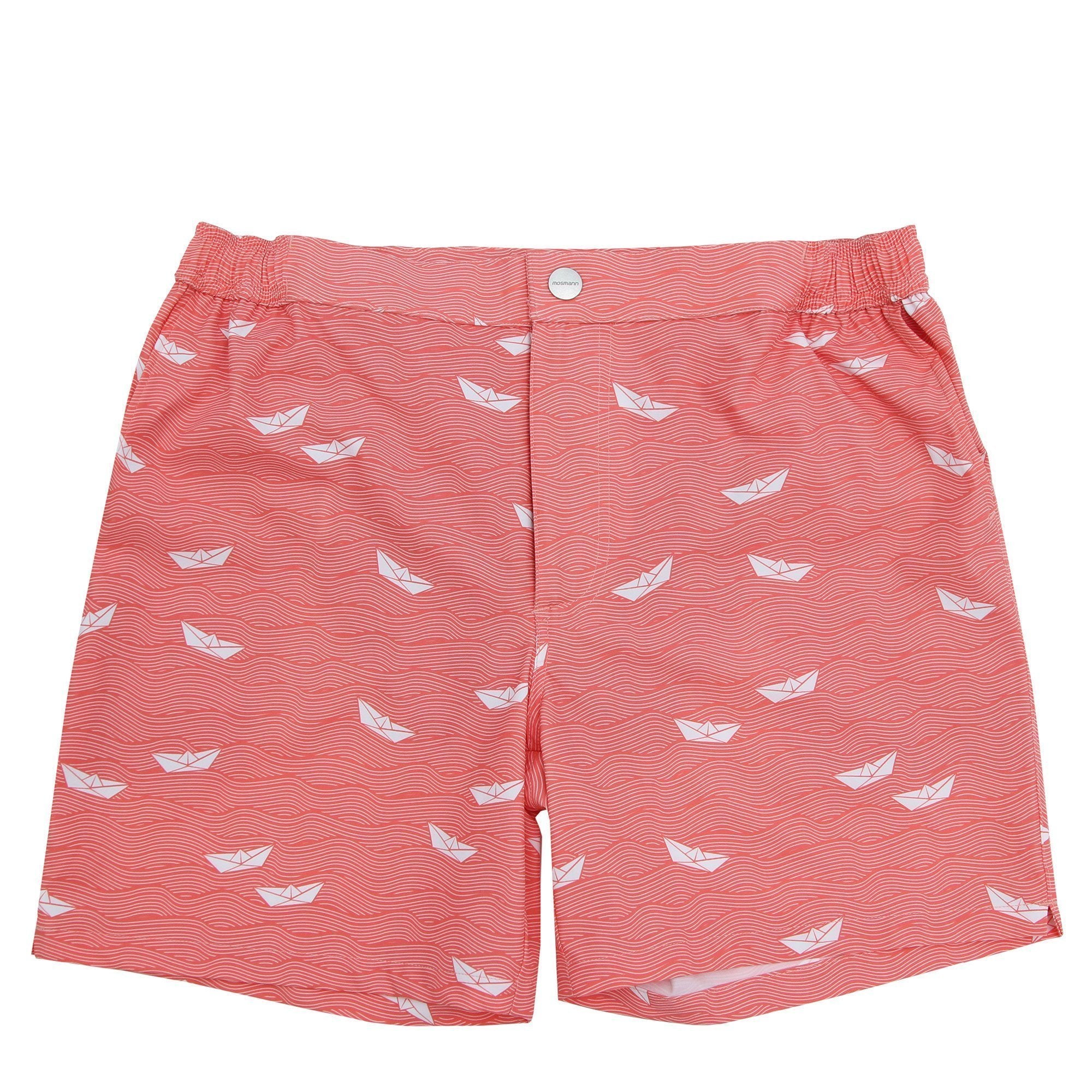 Resort Swim Shorts - Origami