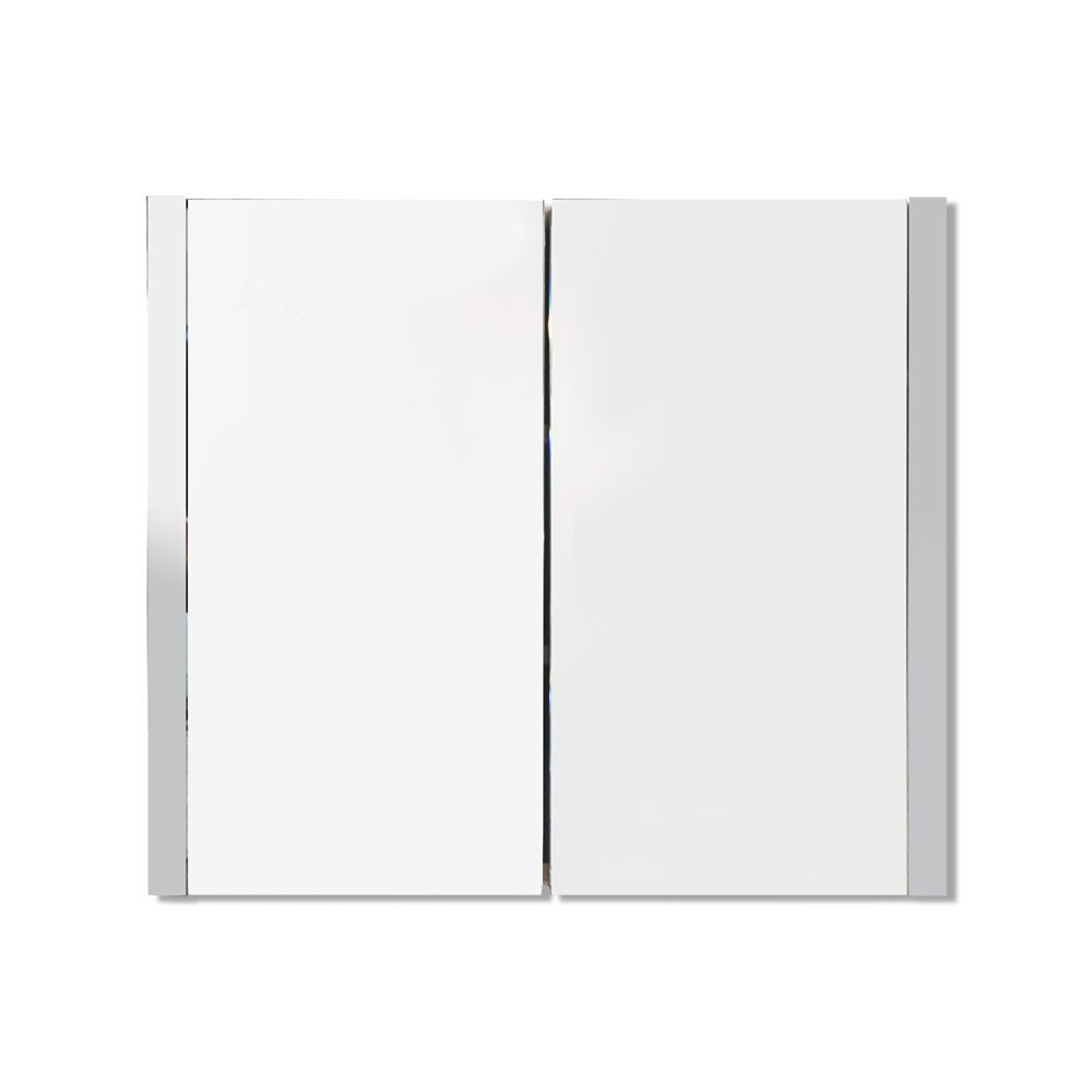 Alexandra Mirror Cabinet in Gloss White Frame – (76cm x 60cm)