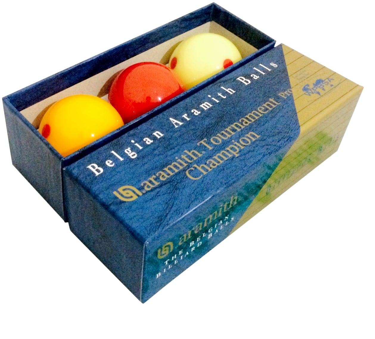 Aramith Pro cup Champion Billiard Balls Set 2 & 1/16 inch Measle SPOT SET