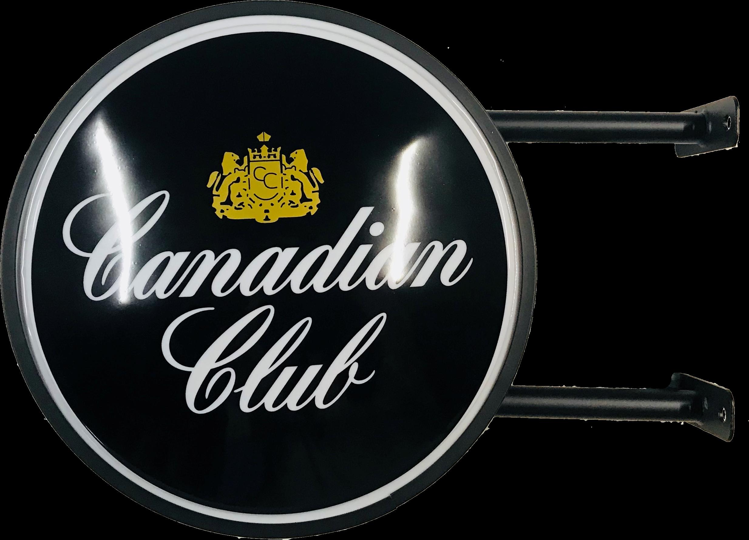 Canadian Club Spirits Bar Lighting Wall Sign Light LED